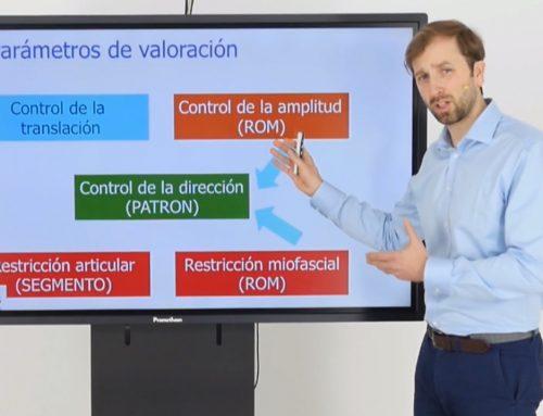 PARÁMETROS DE VALORACIÓN DEL CONTROL MOTOR